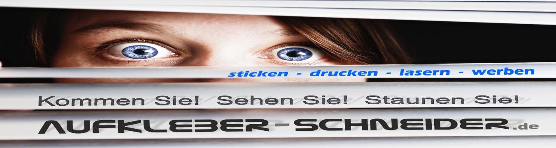 Aufkleber Schneider